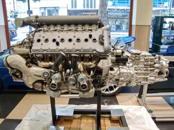 bugatti veyron w12 engine 13