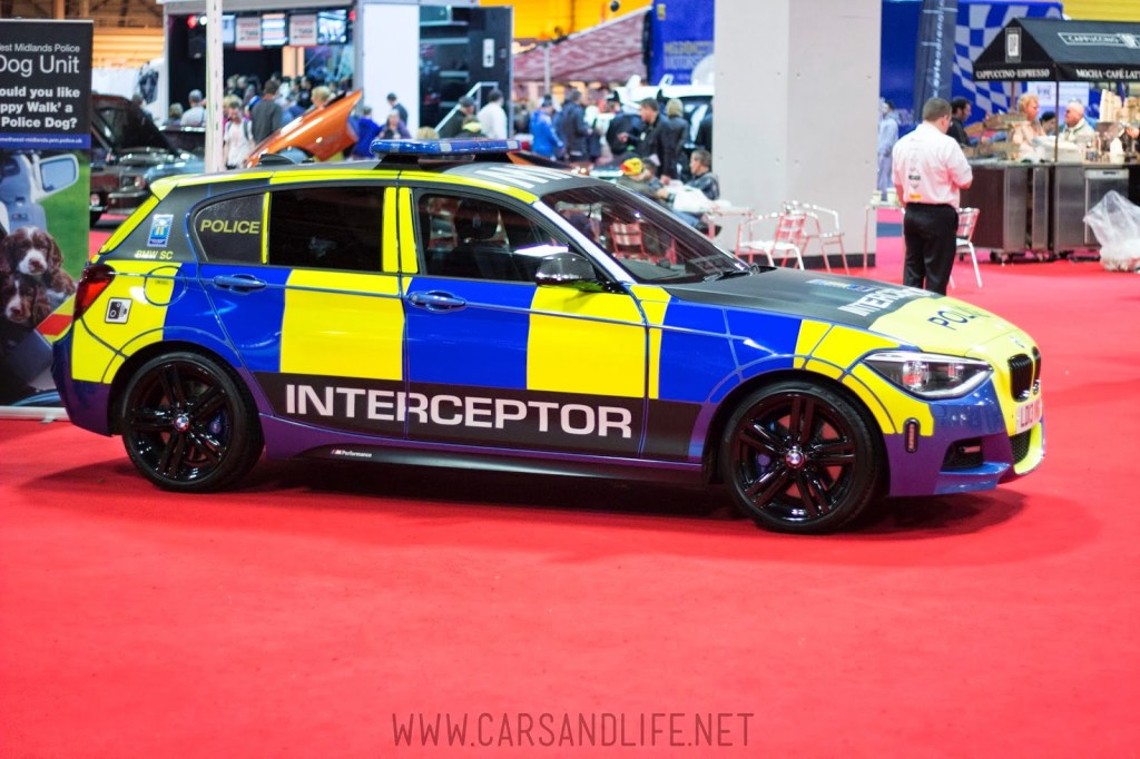Autosport 2014 Police Cars McLaren BMW 11