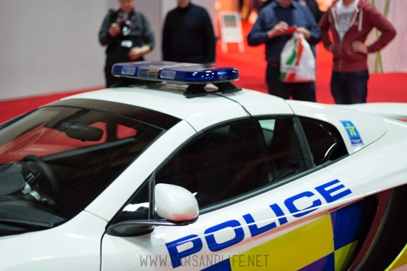 Autosport 2014 Police Cars McLaren BMW 15