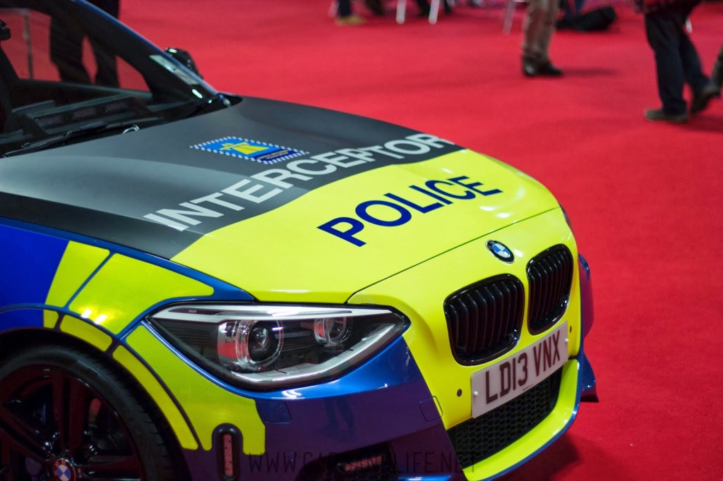 Autosport 2014 Police Cars McLaren BMW 17