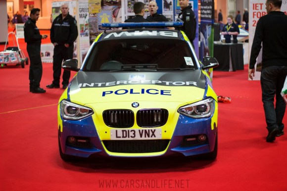 Autosport 2014 Police Cars McLaren BMW 7