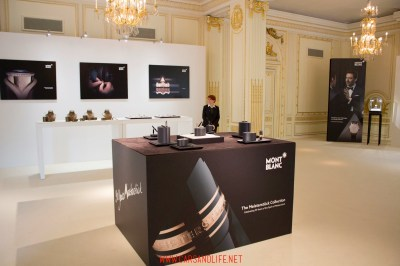 montblanc black and white event in london 66