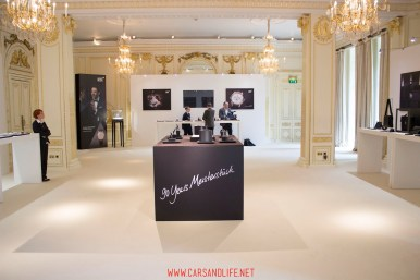 montblanc black and white event in london 68