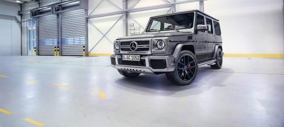 "Mercedes-Benz G-Class (BR 463) 2015; AMG G 63 ""Edition 463"" Exterieur: palladiumsilber metallic exterior: palladium silver metallic"