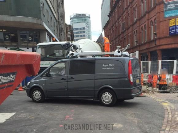 Apple Maps Mercedes Van Birmingham