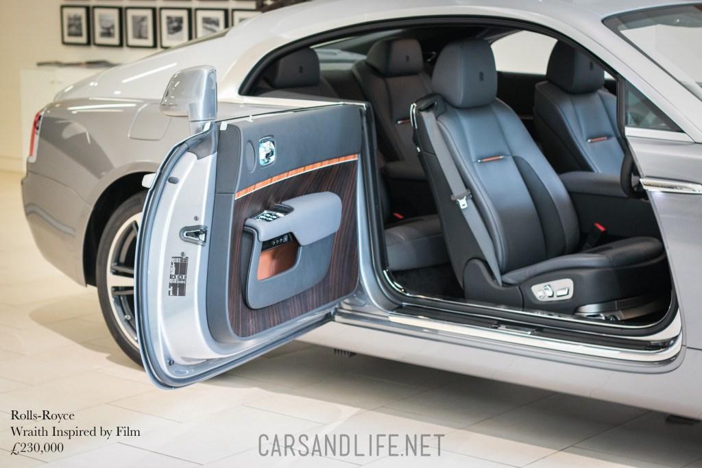 Rolls-Royce Wraith Inspired by Film