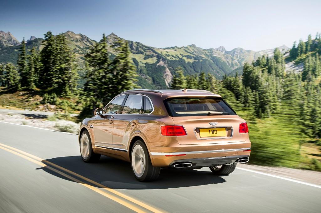 Bentley SUV Bentayga