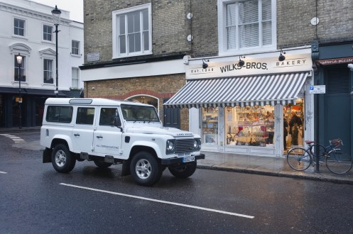 Land Rover Defender Taxi 13