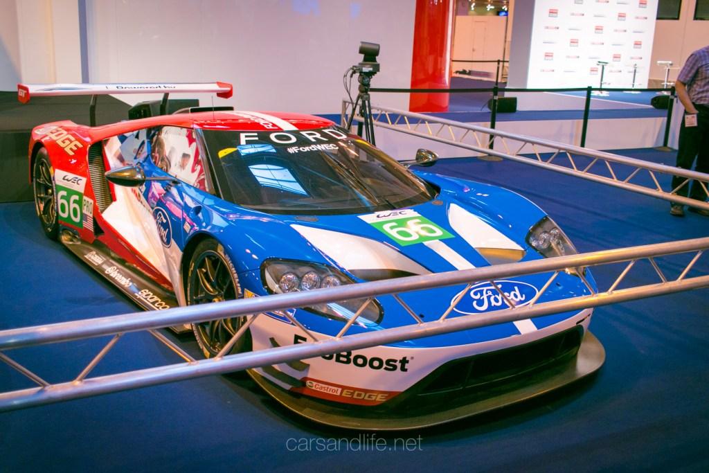Ford GT WEC Racer Autosport Intertional 2016
