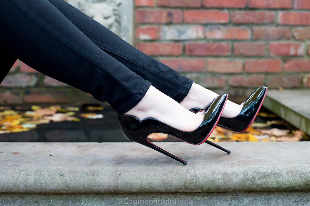 Christian Louboutin Hot Chick Heels 130mm