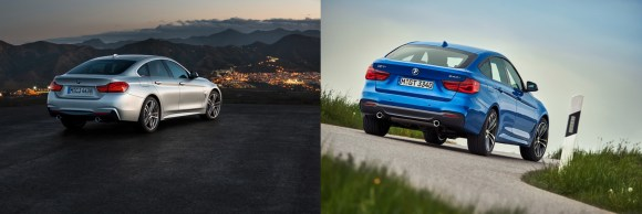 BMW 4 Gran Coupe vs 3 GT