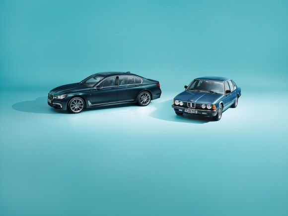 BMW 7-Series 40 Years Old