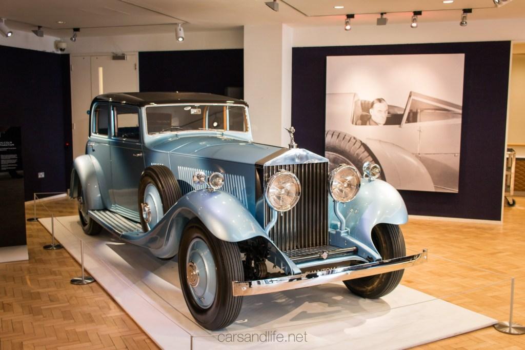Rolls Royce Phantom II, Sir Malcom Campbell, Bonhams