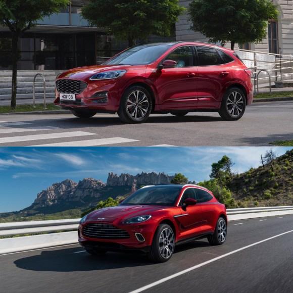 Aston Martin DBX vs New Ford Kuga