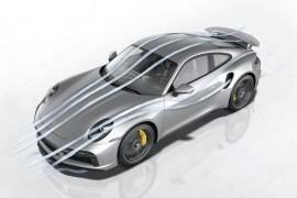 911 Turbo S: Porsche Active Aerodynamics (PAA)