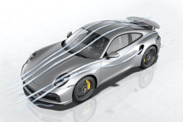 911 Turbo S: Porsche Active Aerodynamics (PAA)