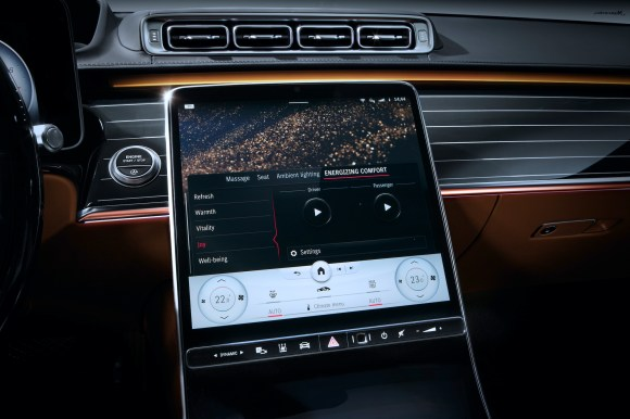 Mercedes-Benz S-Class Digital Interior W223