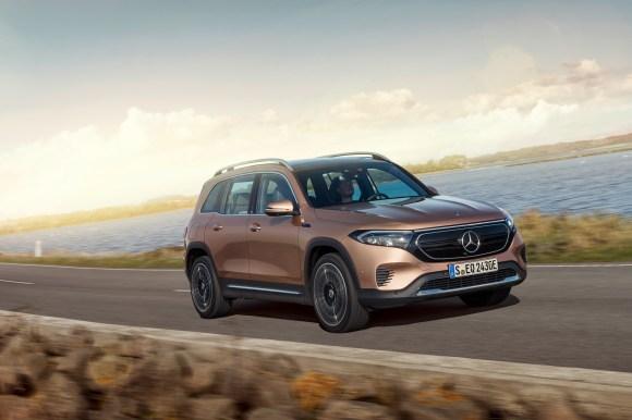 Mercedes-EQ, EQB, 2021