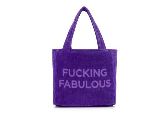 Tom Ford Beach Tote Bag Purple