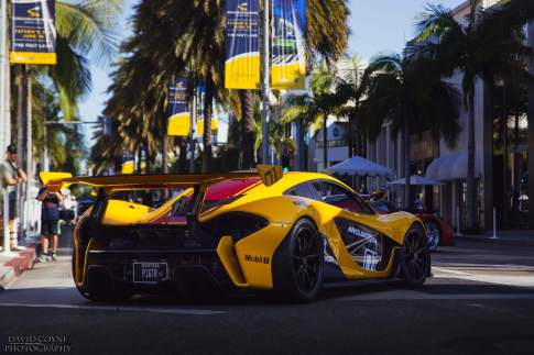 McLaren P1 GTR by David Coyne Photography