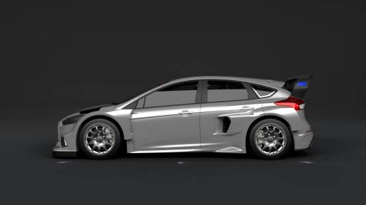 Ken Block Gymkhana 9 Introducing Ford Focus RS RX Profil