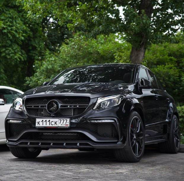 Mercedes Benz GLE63s AMG Coupe