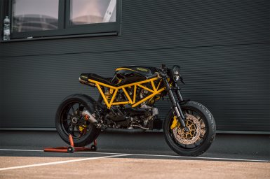 MotorCeption Ducati 750SS Cafe Racer