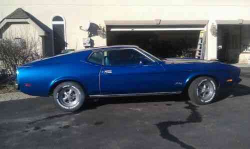 """While my preference is to """"do the usual"""" Ford Mustang Fastback 1973 Mustang Fastback Priced For Used Classic Cars"""