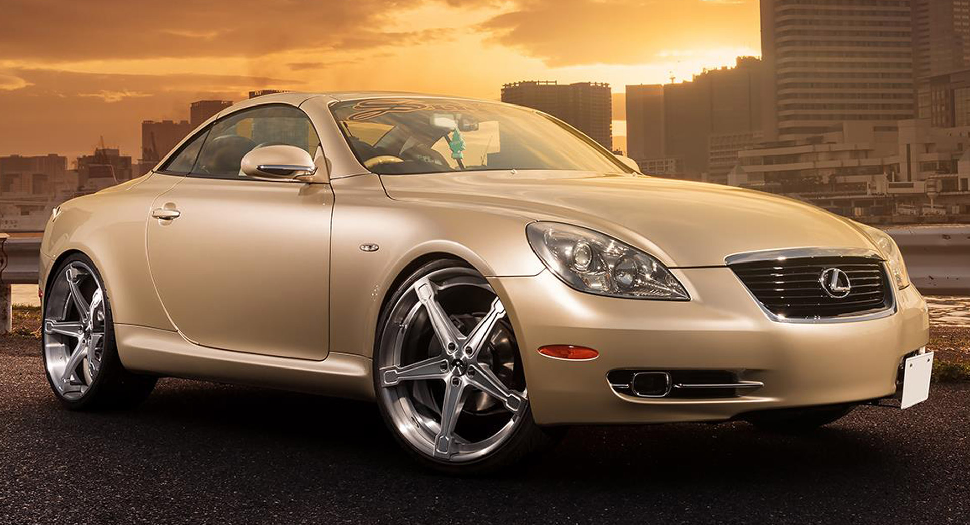 Are New Wheels Enough To Redeem The Lexus Sc430? Carscoops
