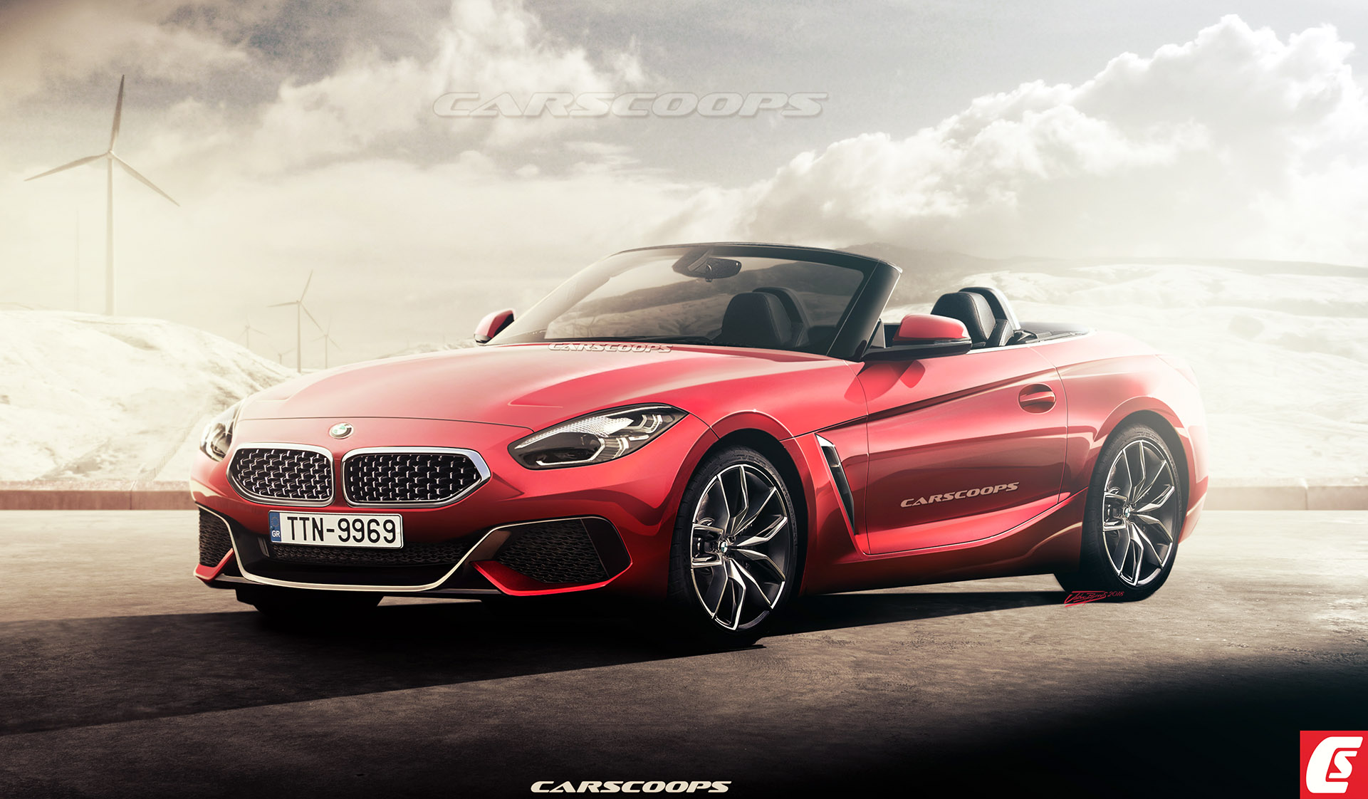 Future Cars 2019 Bmw Z4 Roadster Flips Its Lid  Carscoops