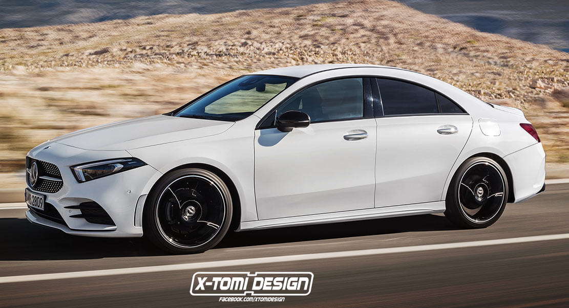 This Take On The 2020 Mercedesbenz Cla Is Pretty Much