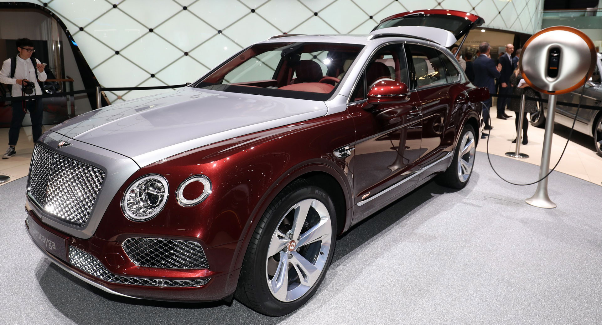 Bentley Tapped Philippe Starck To Design Bentayga Hybrid's