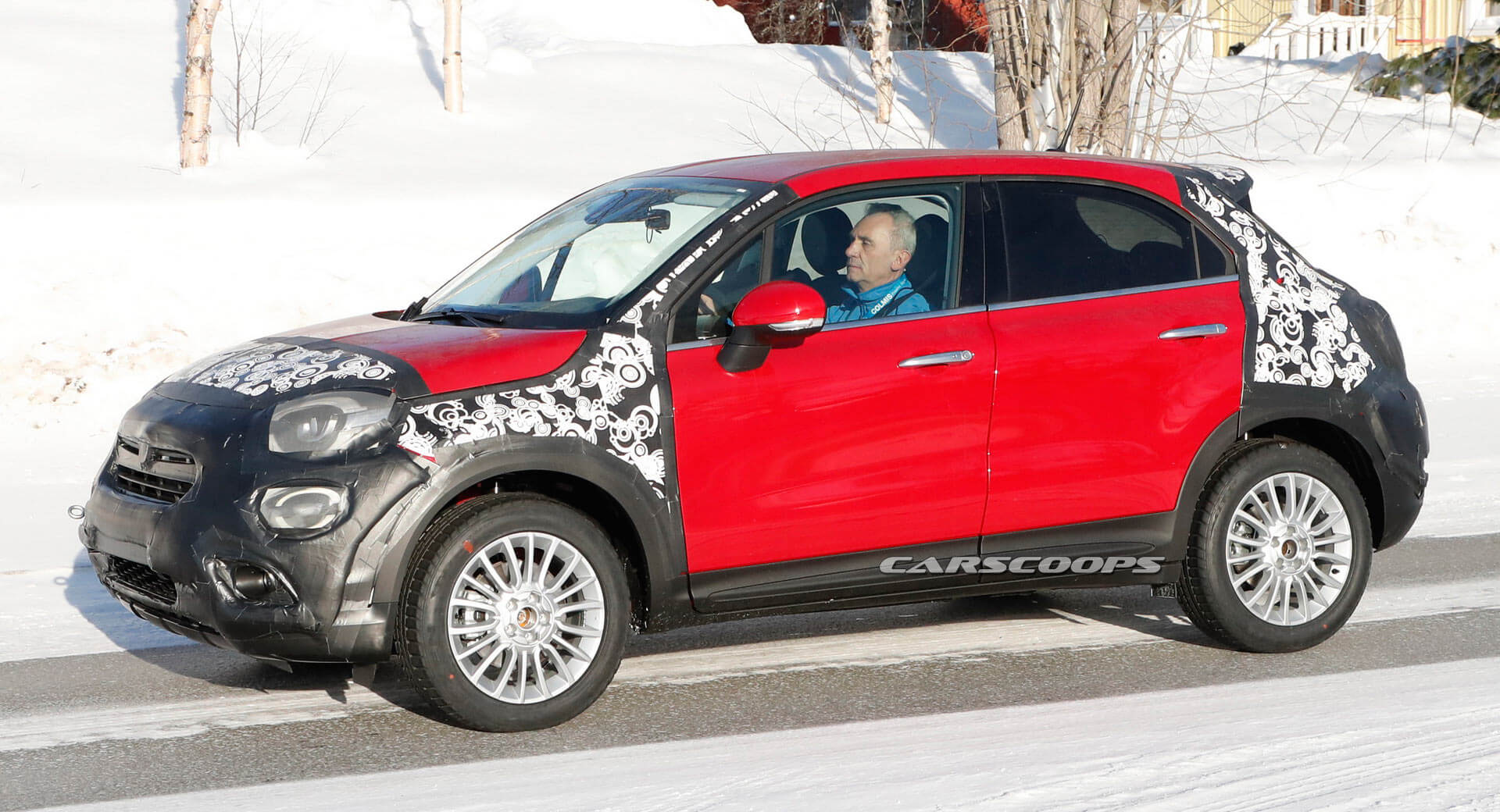 Fiat 500x Mild Update Now Evident On Facelifted Prototypes