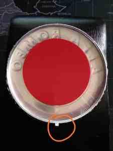 σήμα Alfa Romeo με αυτοκόλλητο διπλής όψης