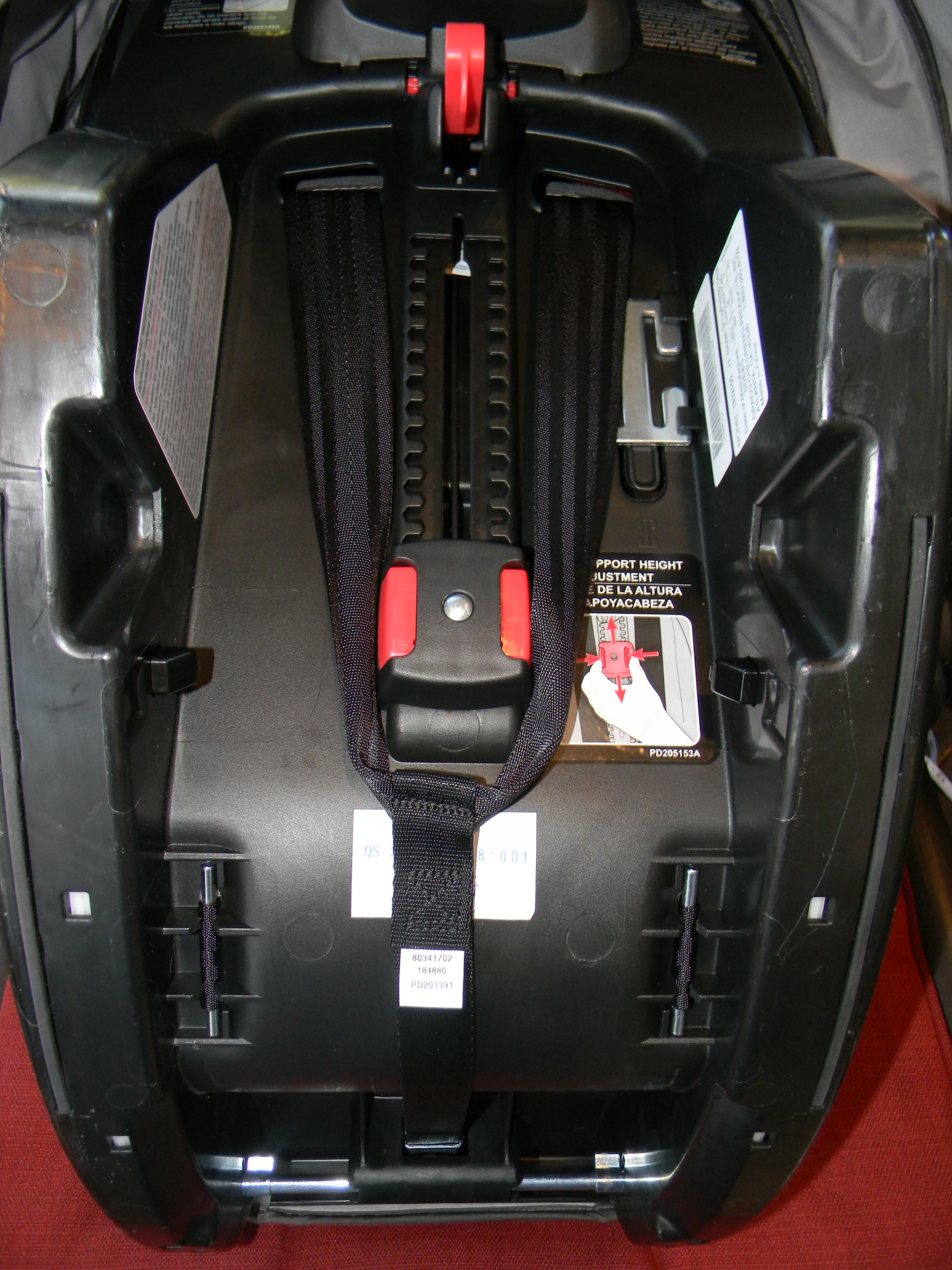 ez lock wheelchair wiring diagram origami motorcycle car seat harness straps installed get free image about