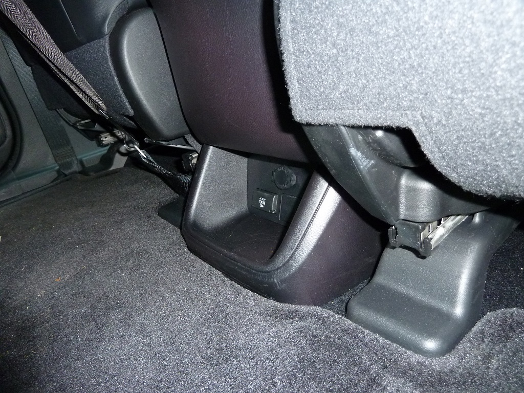 Toyota Highlander Captains Chairs Tether Anchor Toyota