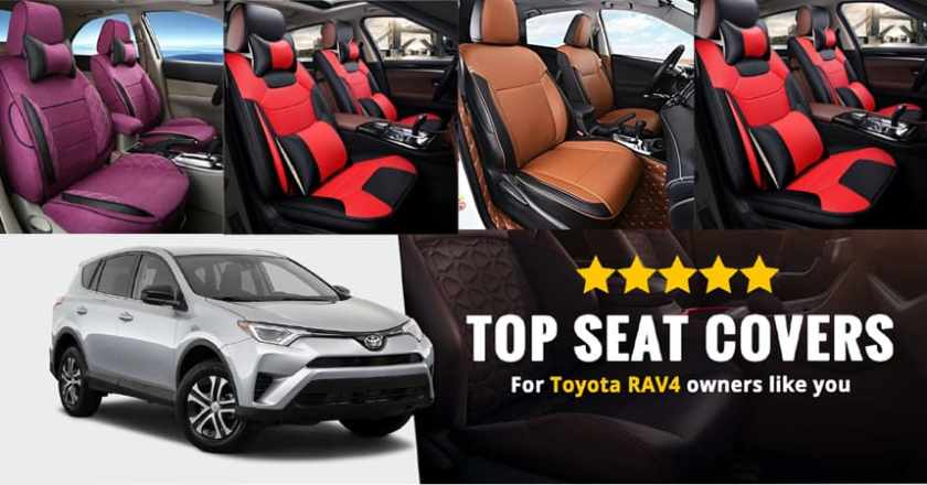 Best Toyota rav4 seat cover Online in the UK Where to Buy