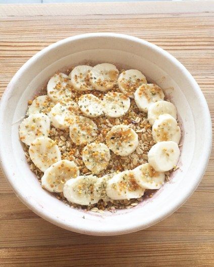 Almond Butter Acai Bowl