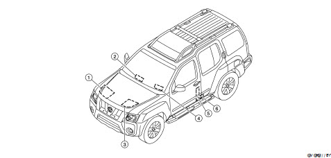 Nissan Xterra 2005 2007 2008 2010 Workshop Service Repair