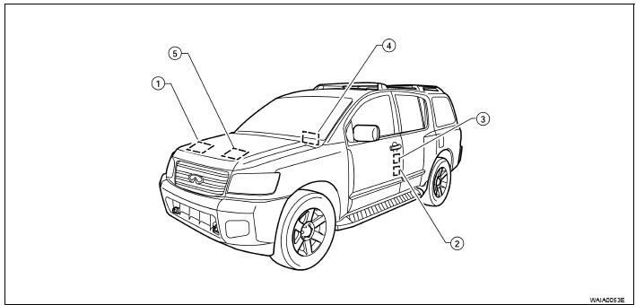 2008 Nissan Pathfinder Navigation System