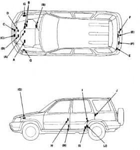 Honda Cr-v 1999 2000 Factory Service Manual Pdf Download