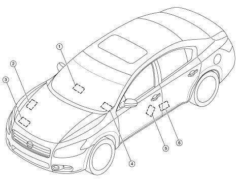Nissan Maxima 2006 A34 Workshop Service Repair Manual