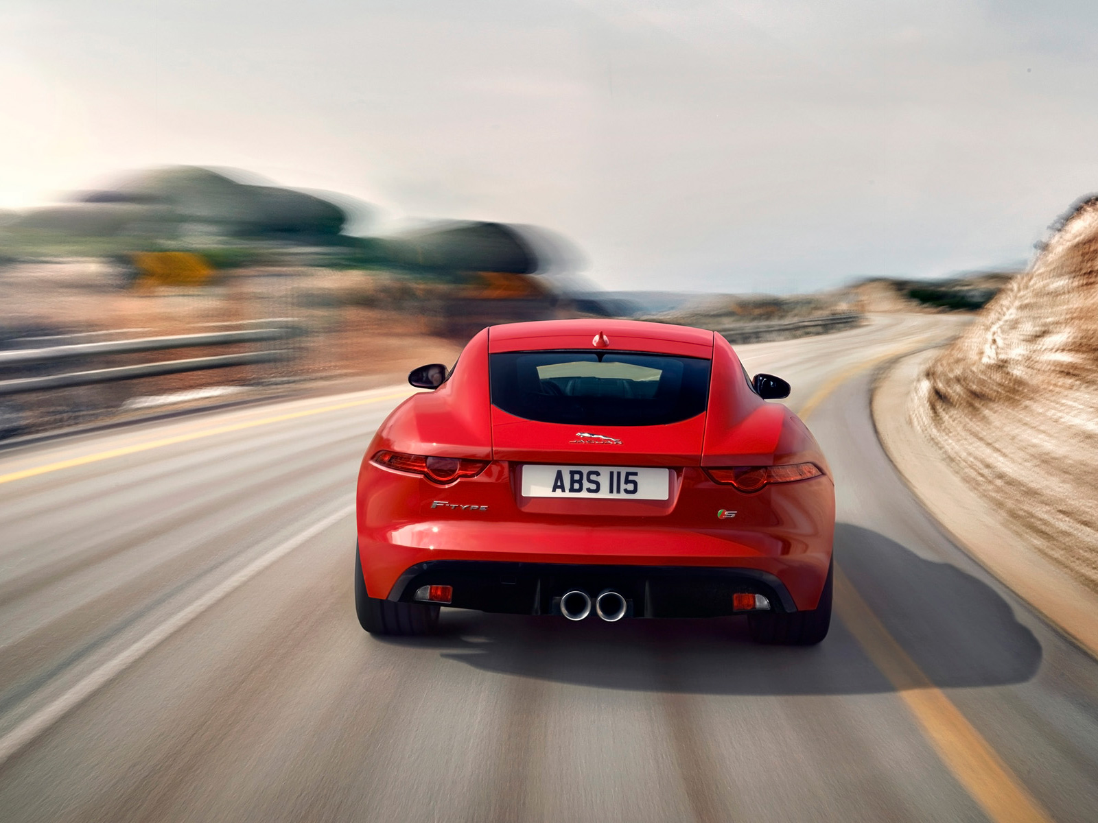 At Cruising Speeds, The Valves Close, Retaining A Powerful Exhaust Note  With Comfortable Sound Levels. Visually, The 2014 Jaguar F Type ...