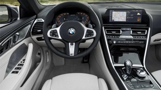 BMW 8 Series Convertible Cockpit