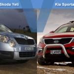 Skoda Yeti Vs Kia Sportage 2011 Carsguide