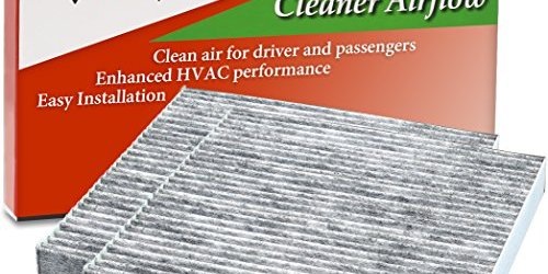 51roX1pxIbL - 2 Pack - EPAuto CP134 (CF10134) Honda & Acura Premium Cabin Air Filter includes Activated Carbon