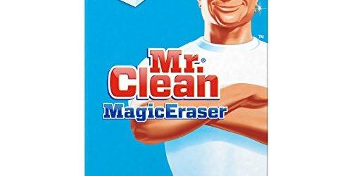 51XIeFNZzJL - Mr. Clean Magic Eraser, Original, 4 Count