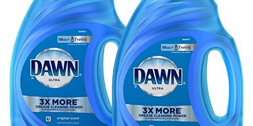 51wM 4a4BgL - Dawn Ultra Dishwashing Liquid Dish Soap, Original Scent, 2 count, 56 oz.