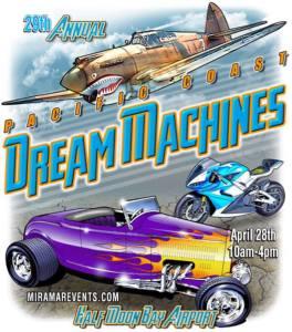 29th Pacific Coast Dream Machines Show @ Half Moon Bay | Half Moon Bay | California | United States