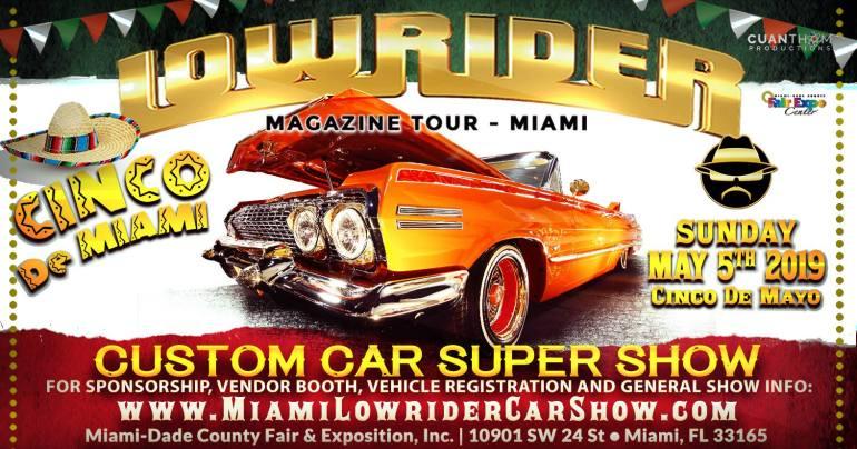 Miami Lowrider Custom Car Show - Car Shows Now